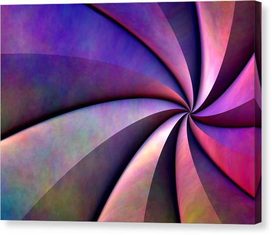 Converge Canvas Print