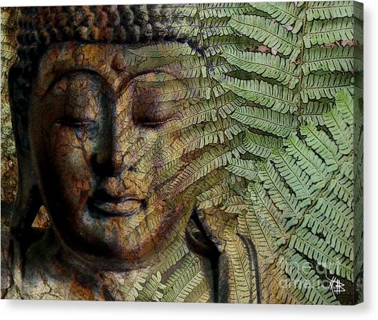 Buddhist Canvas Print - Convergence Of Thought by Christopher Beikmann