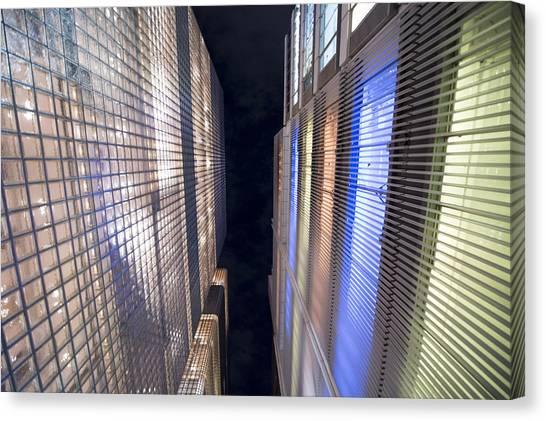 Tokyo Skyline Canvas Print - Convergence by Oz Yilmaz