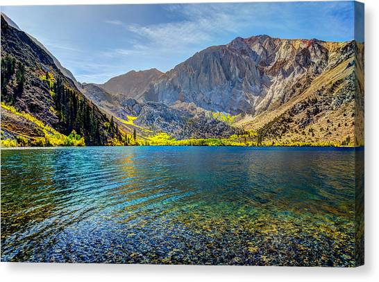Convict Lake Fall Color Canvas Print