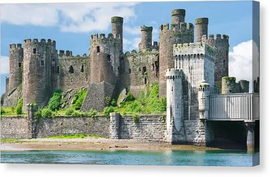Conwy Castle Wales Canvas Print