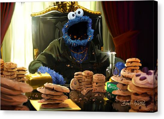 Cookie Montana Canvas Print