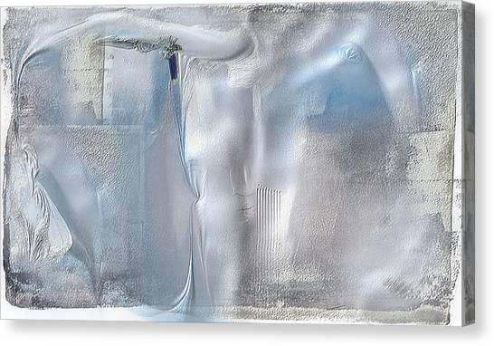 Cool Azure 2 Canvas Print