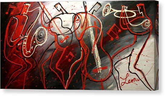 Cool Jazz 2 Canvas Print