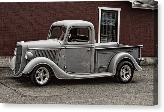 Cool Little Ford Pick Up Canvas Print