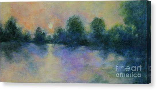 Cool Morning Canvas Print