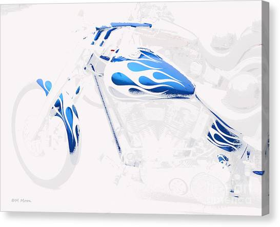 Cool Motorcycle Canvas Print