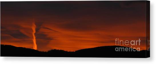 Cool Night Canvas Print by Greg Patzer