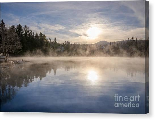 Cool November Morning Canvas Print