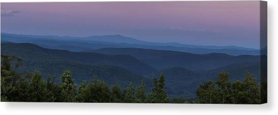 Cooper Hill Dusk II Canvas Print