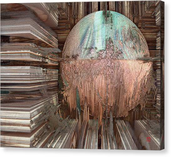 Copper Ball Canvas Print by David Jenkins