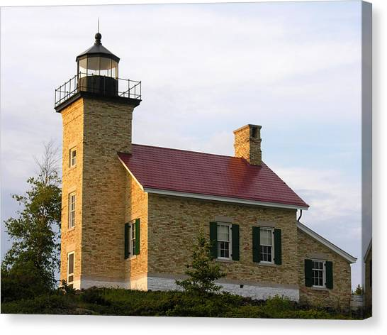 Copper Harbor Michigan Lighthouse Canvas Print