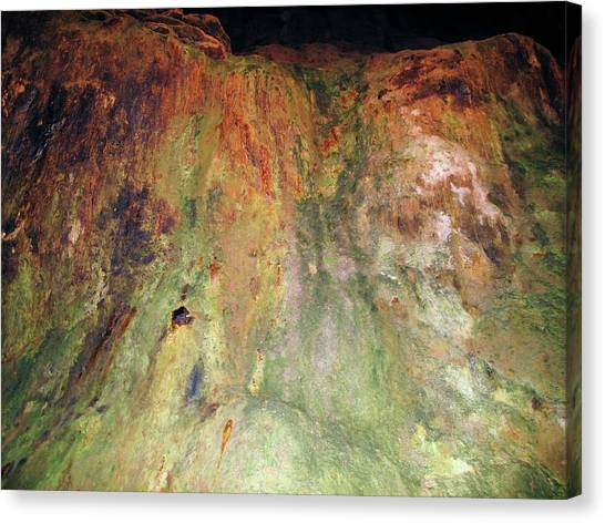 Copper Mine Deposit Canvas Print by Cordelia Molloy/science Photo Library