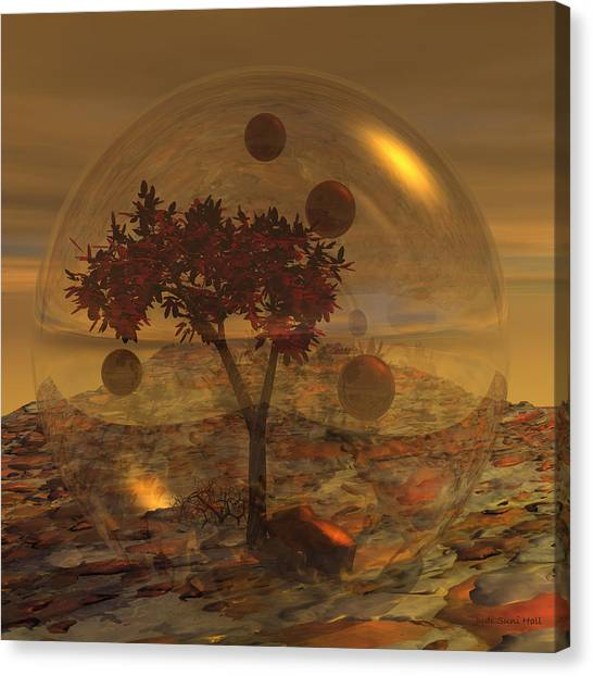Copper Terrarium Canvas Print