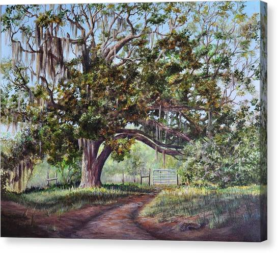 Cop's Tree Canvas Print
