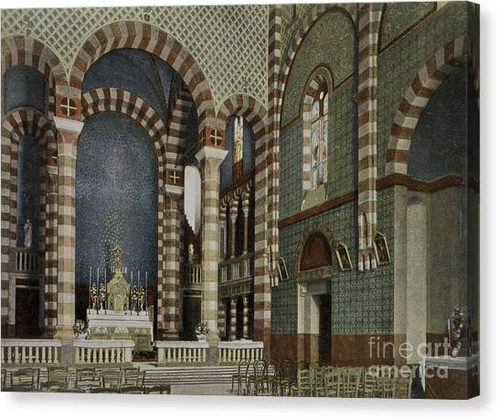 Aac Canvas Print - Coptic Church, Cairo, Egypt, 1906 by Getty Research Institute
