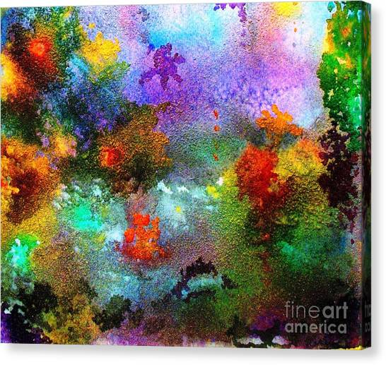 Coral Reef Impression 1 Canvas Print