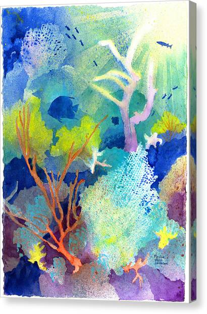 Coral Reef Dreams 1 Canvas Print