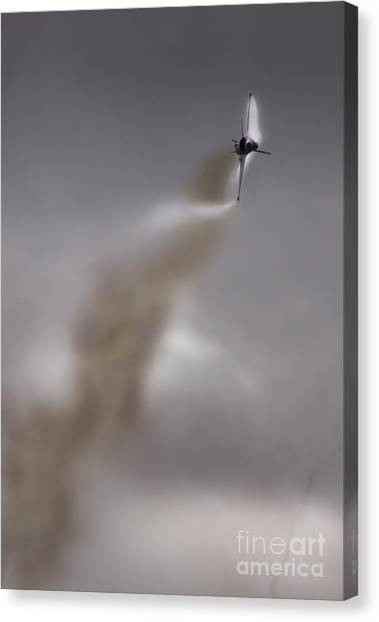 F16 Canvas Print - Corckscrew by Angel Ciesniarska