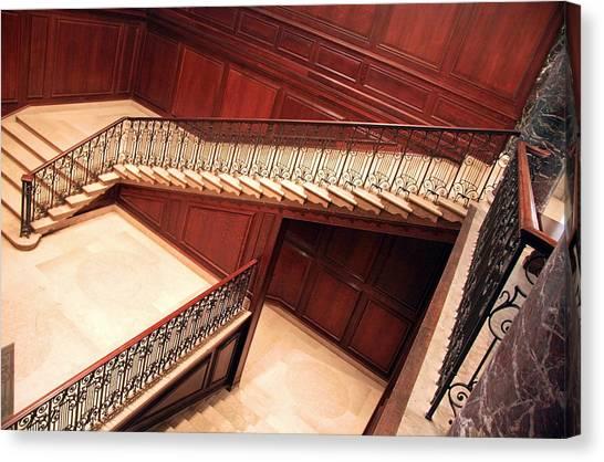 Atlantic 10 Canvas Print - Corcoran Gallery Staircase by Cora Wandel