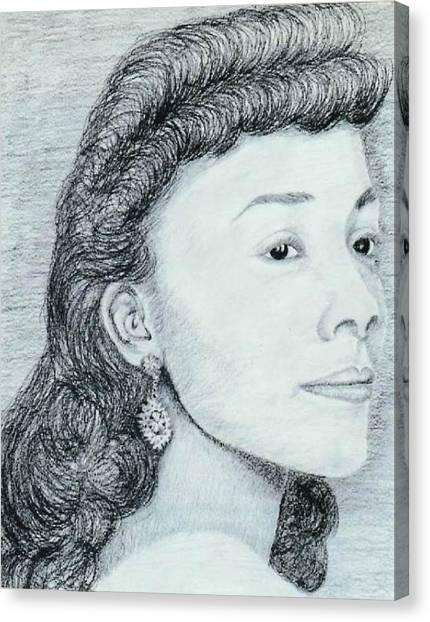 Coretta Scott King Canvas Print