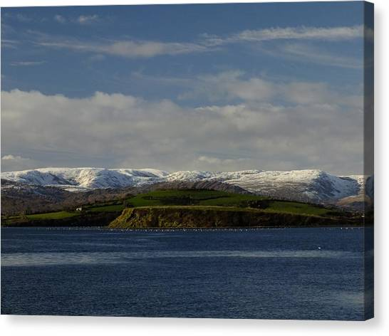 Cork And Kerry Mountains Canvas Print