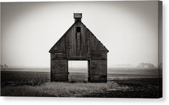 Corn Crib #2 Canvas Print