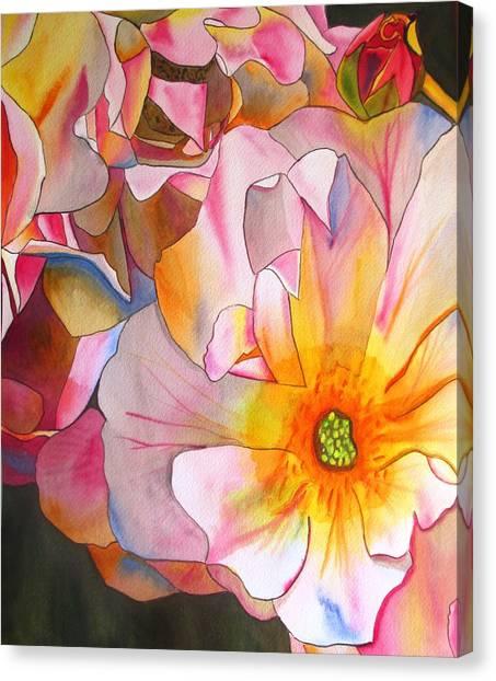 Cornelia Rose Canvas Print by Sacha Grossel