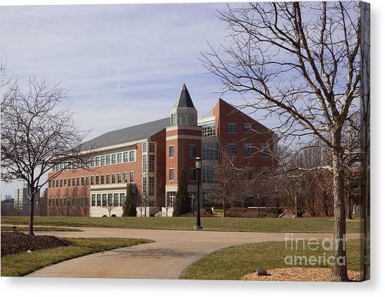 University Of Missouri Canvas Print - Cornell Hall by Kay Pickens