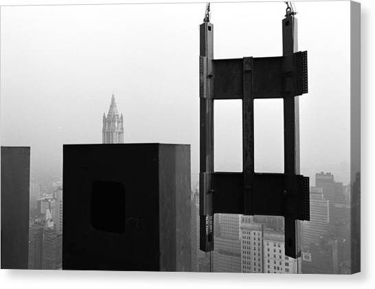 Corner Section Tower 1 Canvas Print