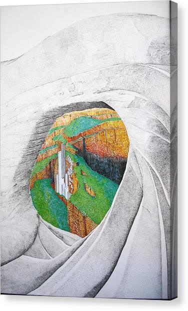 Cornered Stones Canvas Print