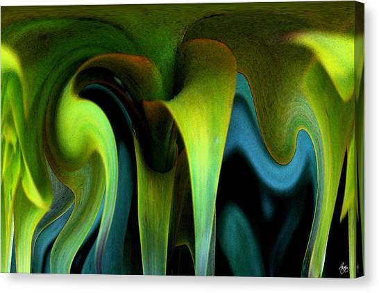 Cornflower Abstract No1 Canvas Print