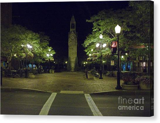 Corning Clock Tower Canvas Print