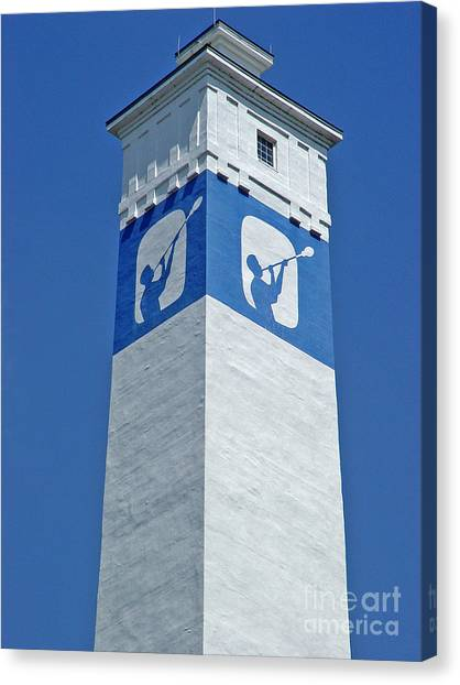 Corning Little Joe Tower 1 Canvas Print