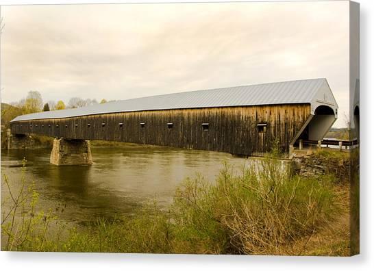 Cornish - Windsor Covered Bridge Canvas Print