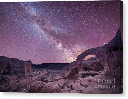 Corona Arch Milky Way Canvas Print