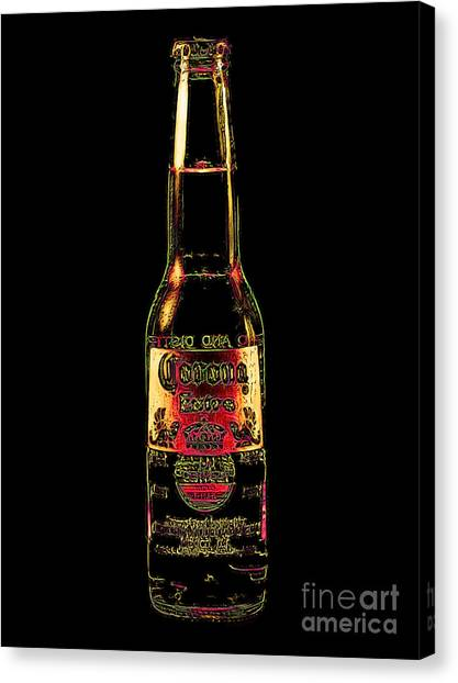 Corona Beer 20130405v3 Canvas Print by Wingsdomain Art and Photography