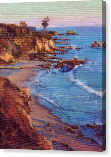 Corona Del Mar Newport Beach California Canvas Print