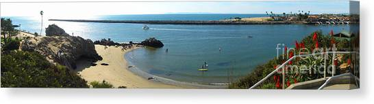 Corona Del Mar State Beach Canvas Print