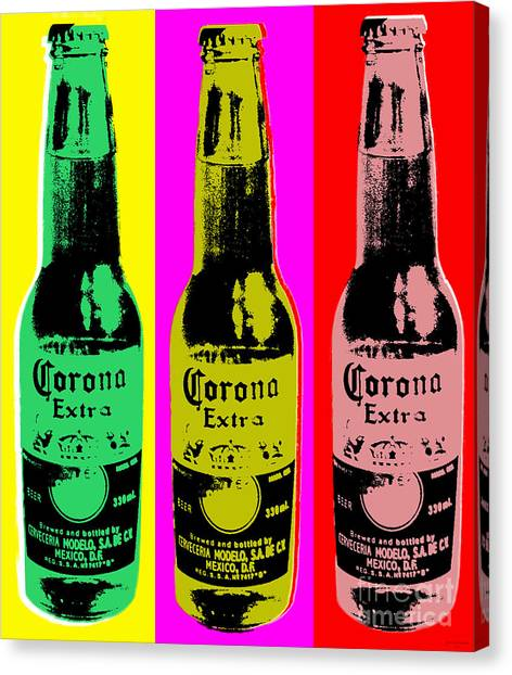 Corona Beer Canvas Print
