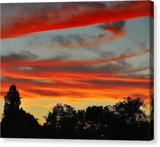 Corona Sunset Canvas Print by Jim Robinson