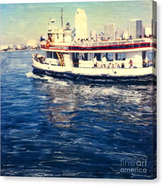 Coronado Ferry Canvas Print