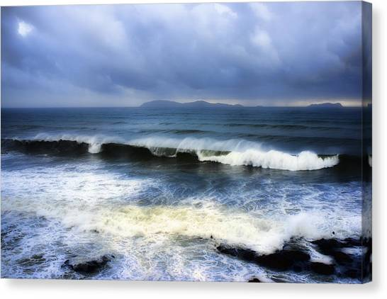 Coronado Islands In Storm Canvas Print