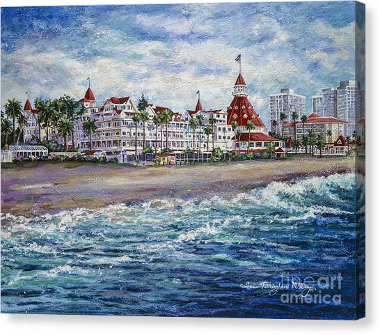 Coronado Shores Canvas Print
