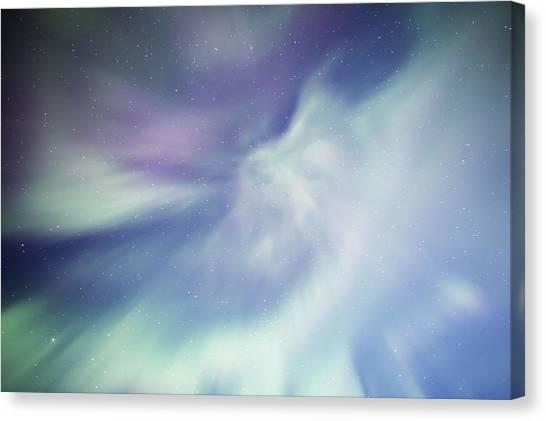 Coronal Aurora Canvas Print