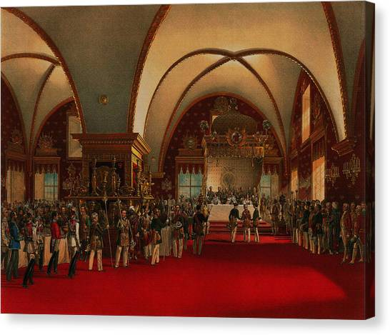 Coronation Banquet Canvas Print