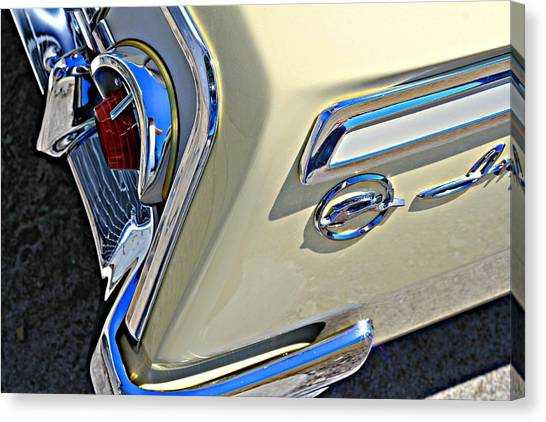 Coronna Cream 1962 Impala Canvas Print
