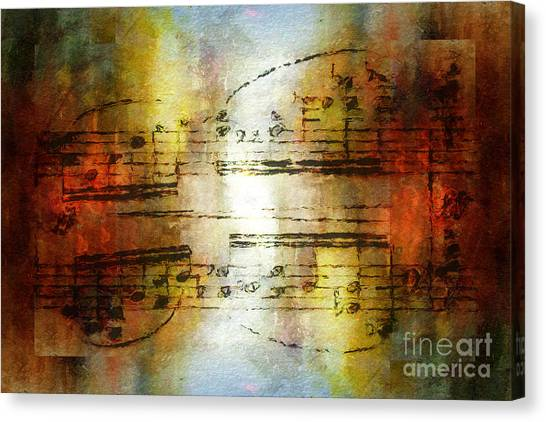 Corroded Cadence Canvas Print