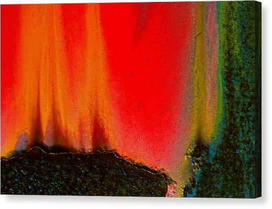 Corrosion Abstract Canvas Print