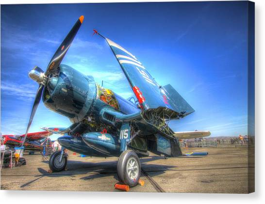 Corsair Salute Canvas Print